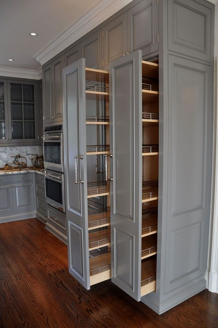 43 Brilliant Space Saving Solutions And Storage Ideas Kitchen