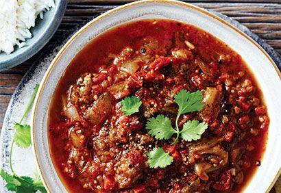 Recette Cari à l'aubergine - Coup de Pouce
