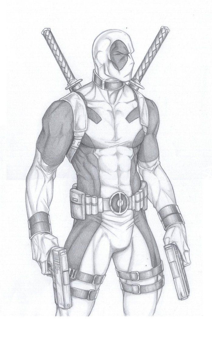 Deadpool by Anyae.deviantart.com on @DeviantArt
