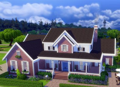 42 best images about the sims 4 houses on pinterest for Classic house sims 4