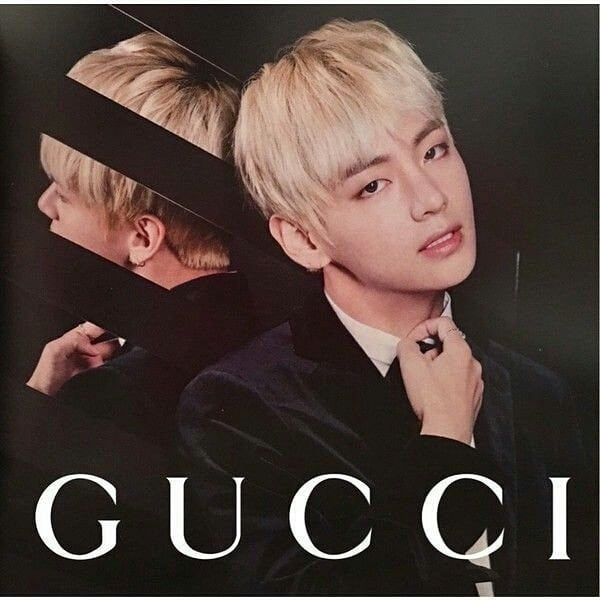 Taehyung On Instagram Official Gucci Boy Taehyung