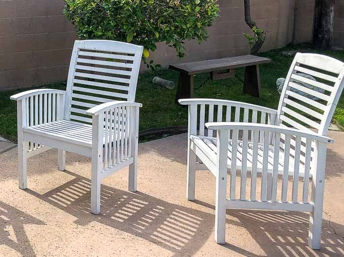 Pin On Painted Outdoor Furniture, What Kind Of Paint To Use On Outdoor Wooden Furniture