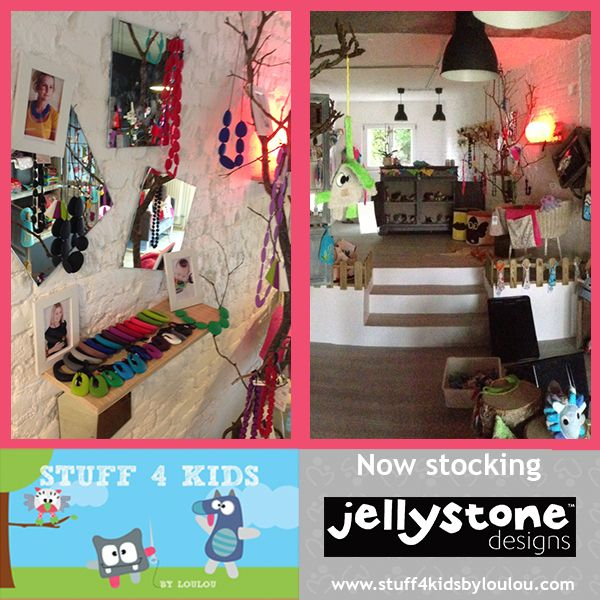 Slumber-Roo would like to introduce the super stylish 'Stuff 4 Kids' by LouLou based in Luxembourg and now stocking Jellystone Design Jewellery and JChews   http://www.stuff4kidsbyloulou.com/