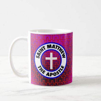Saint Matthew the Apostle Coffee Mug - home gifts ideas decor special unique custom individual customized individualized