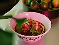 Chicken Goulash with Biscuit Dumplings Recipe - Grace Parisi | Food & Wine