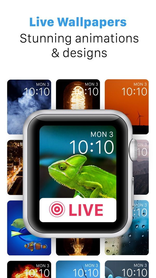 Ifaces Custom Themes And Faces For Apple Watch On The App Store Custom Theme Apple Watch Faces Apple Watch