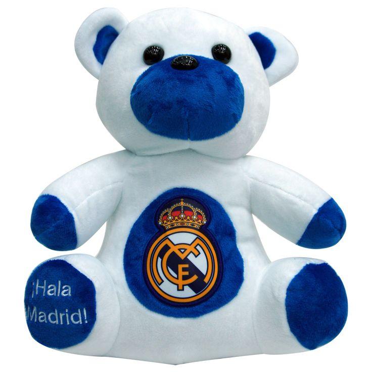 Real Madrid C.F. Teddy Bear - Rs. 1,199 Official#Football #Merchandisefrom#LaLiga