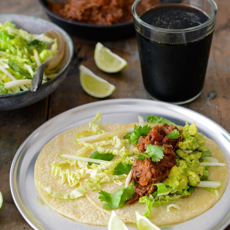 Tacos are one of my favourite meals, especially when I'm feeding a big crowd – there's something really fun and festive about them. I guess it's the fact that everyone can help themselves and get their hands a bit messy! … Continued