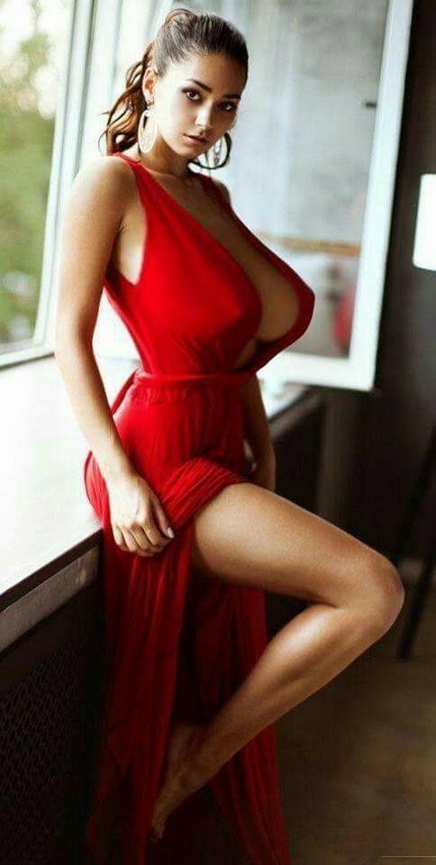 Sexy brunette milf talia wears too short denim miniskirt