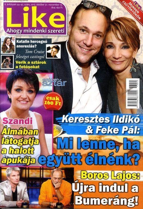 Feke Pál & Keresztes Ildikó (2013.10.31. Like) #FekePal #KeresztesIldiko