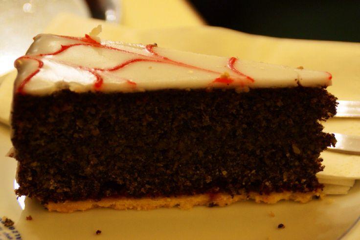 Poppy Seed Cake at the Fürst Coffee Shop
