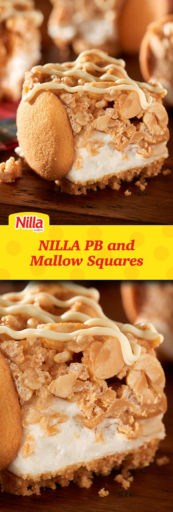 Savor the flavor of NILLA PB and Mallow Squares, the perfect portable for the next Summer BBQ. Easy to make and even easier eat!