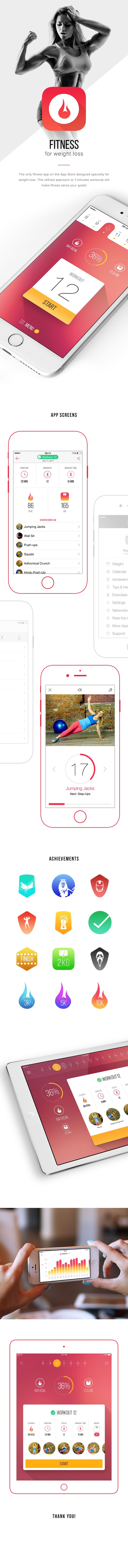 #fitness #app