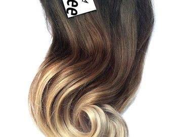 Malibu Ombre Weft Hair Extensions Luxury Quality By MissMiellee