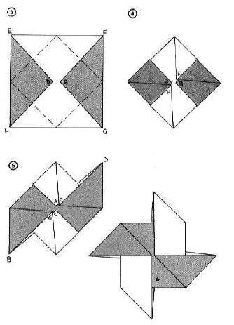 Passaggi origami girandola