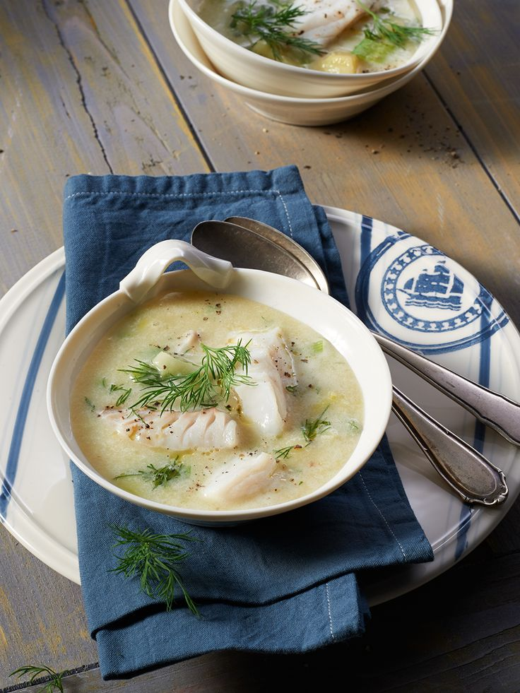 Schwedische Fischsuppe