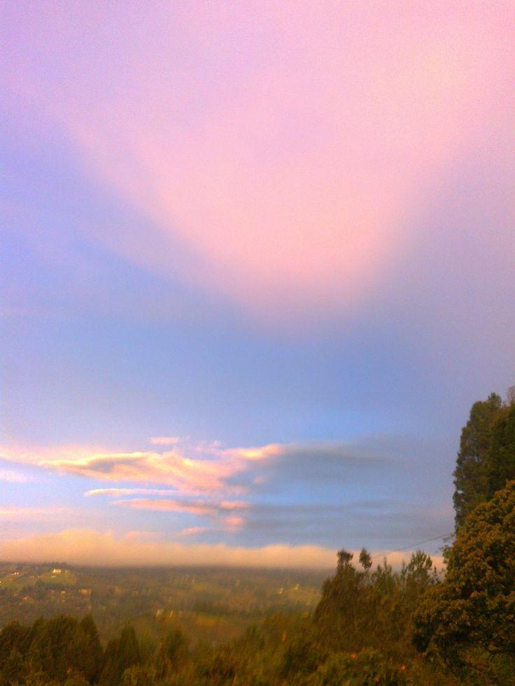 amanecer impresionante paisaje
