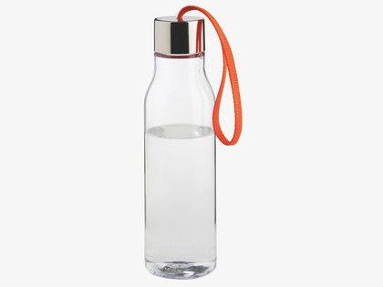 EVA ORANGES Plastic Water bottle with orange strap - wc_fulfil_location_B- HabitatUK