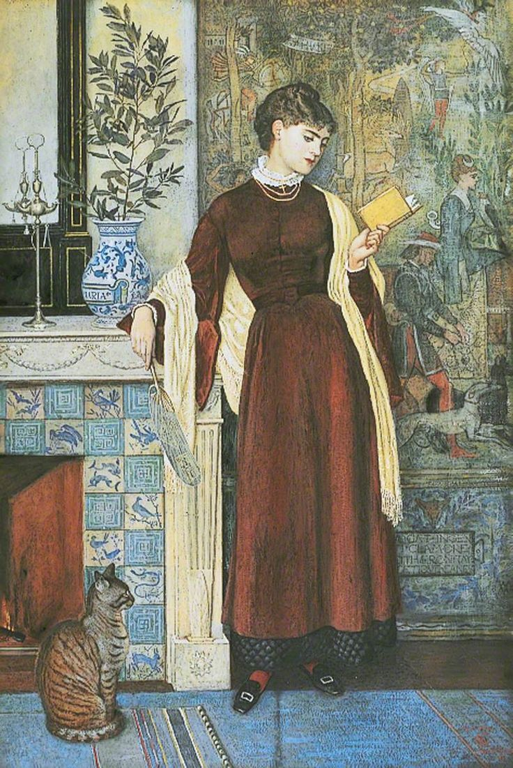 At Home: A Portrait Walter Crane (1845–1915) Leeds Art Gallery, Leeds Museums and Galleries