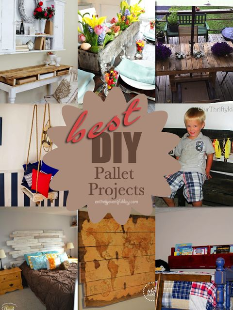 Entirely Eventful Day: DIY Pallet Projects