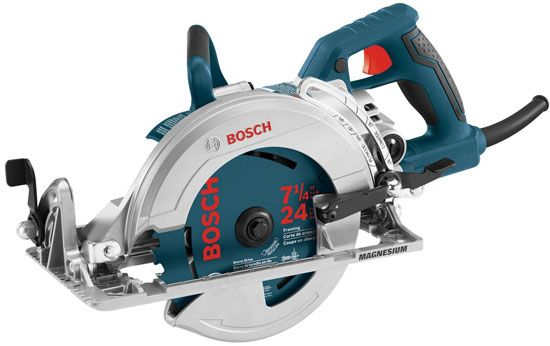 New Bosch CSW41 Worm Drive Circular Saw