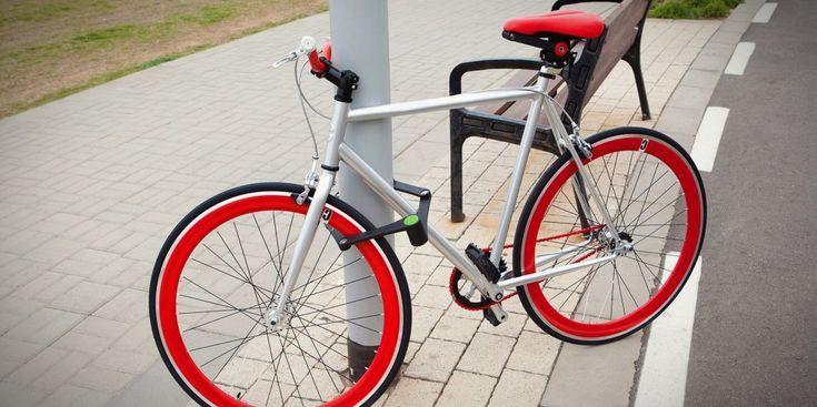 Foldylock: The folding bike lock
