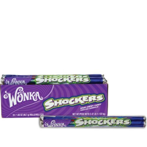Wonka Shockers Candy Rolls 24ct - Party City