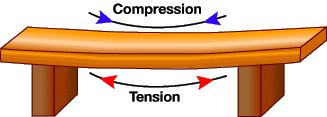 How bridges work. Compression and tension. Classical Conversations Cycle 2 Week 20.