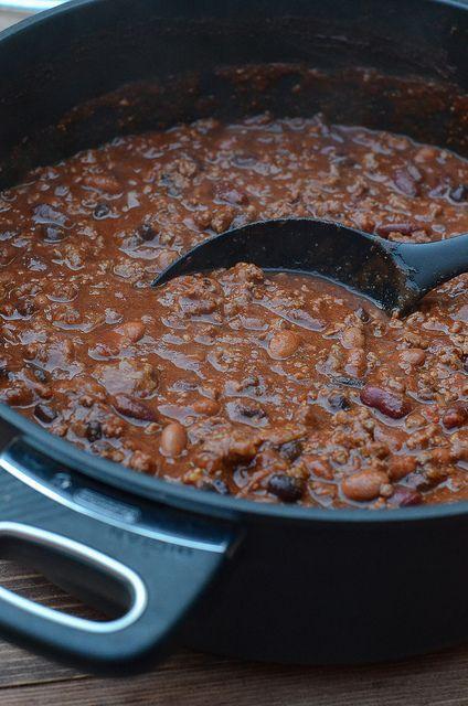 My Friend, Yummy Chilis, Black Beans, Halftim Chilis, Chilis Recipes ...
