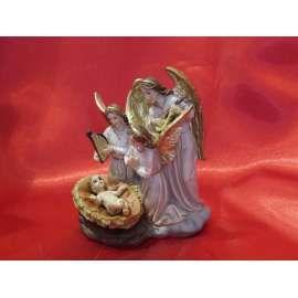 ANGELES CANTANDO AL NIÑO JESUS