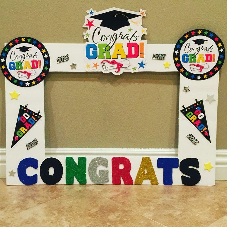 Graduation photo frame