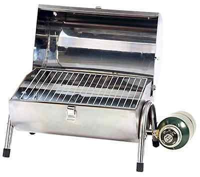 Barbecues Grills and Smokers 151621: Powerful Stainless Steel Tabletop Portable Camping Picnic Gas Grill Bbq Propane -> BUY IT NOW ONLY: $56.31 on eBay!