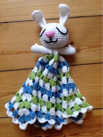 Creative Tail: Putte kanin - hæklet