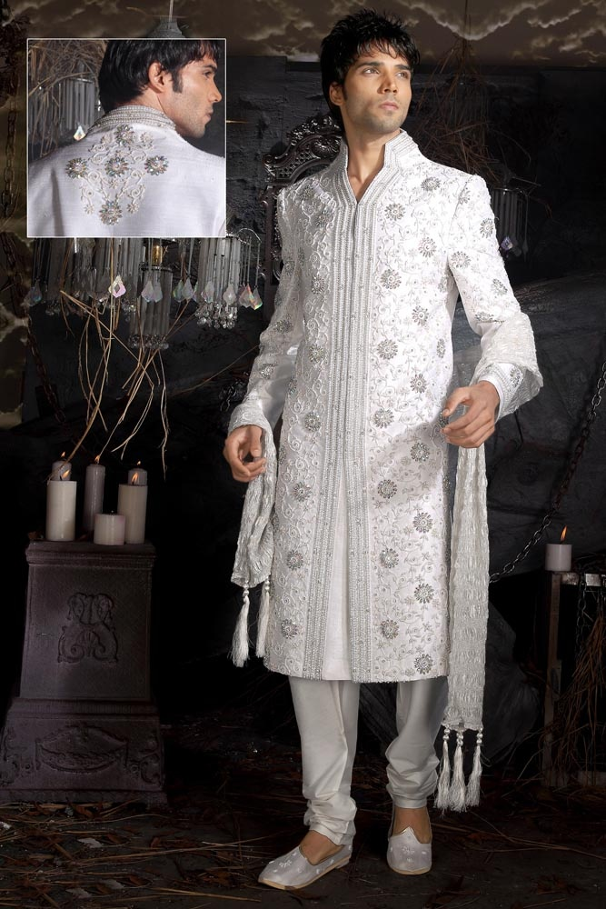 a6a892a5a3 Fashionable Wedding Reception Suits For Groom Indian Of Latest Styles