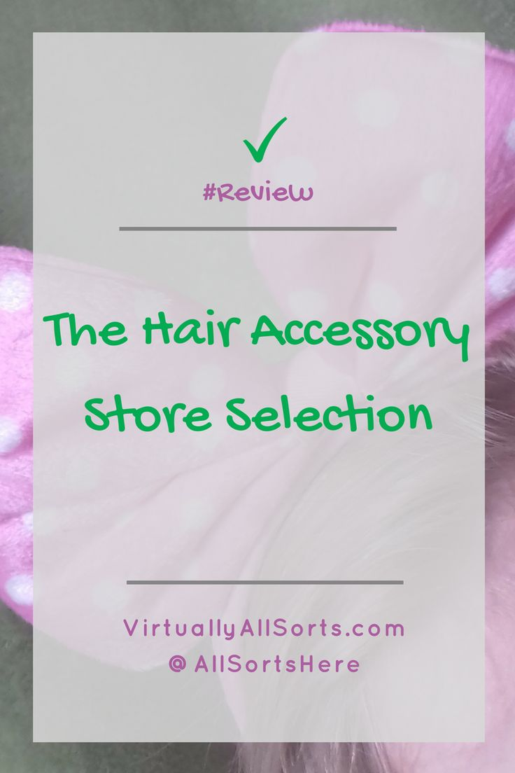Looking for hair accessories?  Then read my review of a selection from the Hair Accessory Store, including hair grips and headbands.