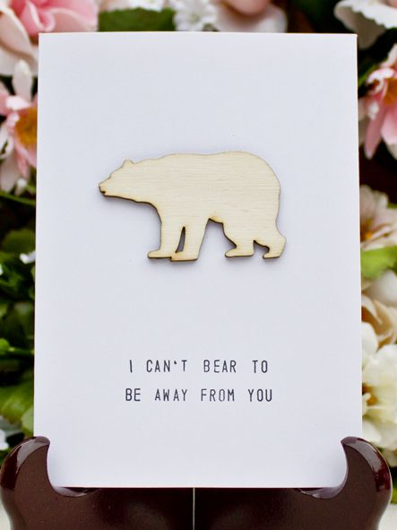 BEAR PUN www.thebirdhousecollection.com.au