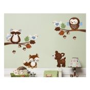 Forest Nursery, Enchanted Forest Nursery, Tree Wall Decals, Forest Nursery Theme