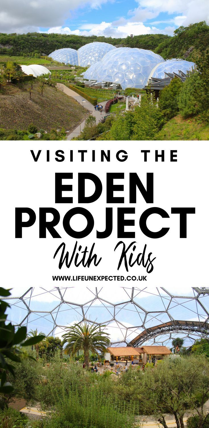 Eden Project In Cornwall | Family Guide To The Eden Project In Cornwall | Visiting Eden Project In Cornwall | What To See In Cornwall | Family Holiday To Cornwall | Places To Visit In Cornwall | Places For Kids In Cornwall