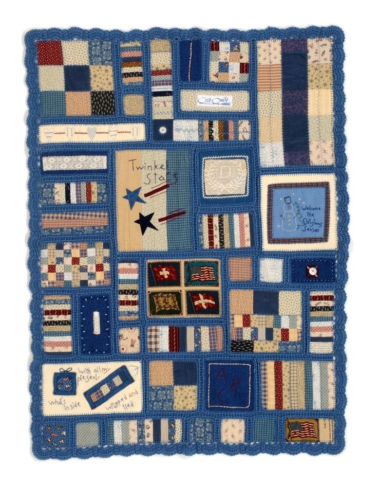American Quilt and crochet. Masako Wakayama