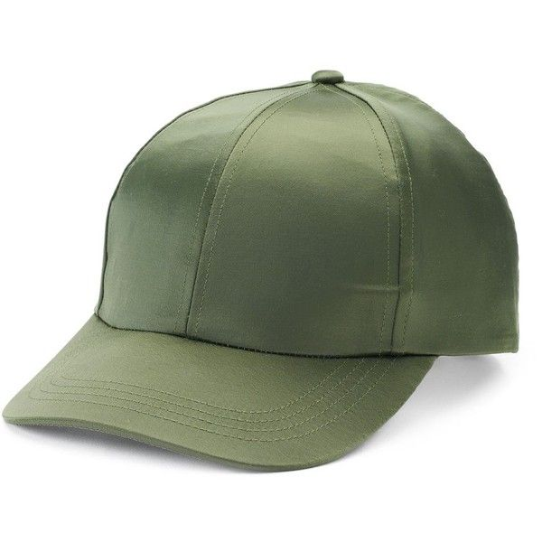 Women's Mudd® Shiny Satin Baseball Hat ($13) ❤ liked on Polyvore featuring accessories, hats, med green, satin hat, baseball hats, green ball caps, ball cap hats and green baseball cap