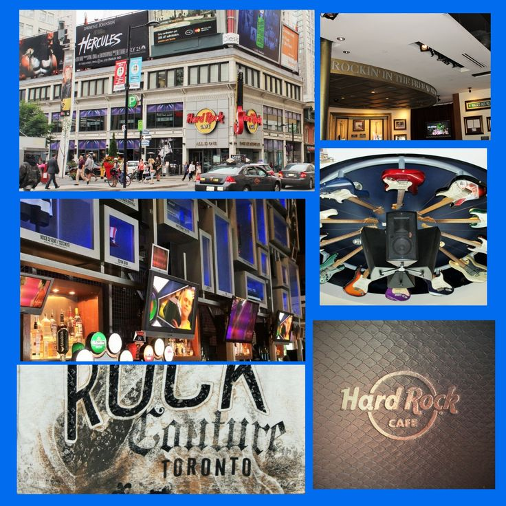 Hard Rock Café in Toronto