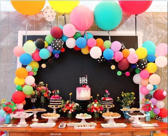 How to make a balloon arch (video!) & reader photos - The House That Lars Built
