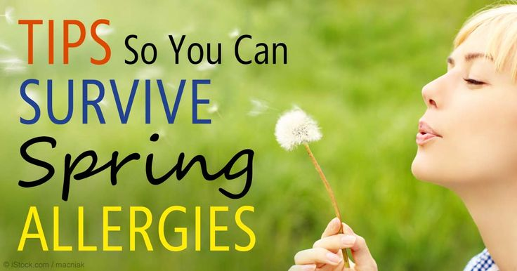 Supporting your digestive health with a wholesome diet of fresh and fermented foods and optimizing your vitamin D levels are important for those with allergies. http://articles.mercola.com/sites/articles/archive/2015/04/20/surviving-spring-allergies.aspx