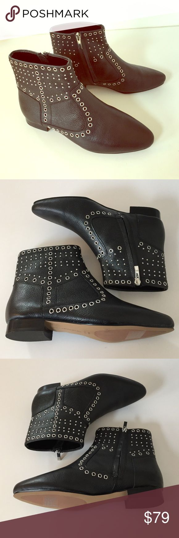 French Connection studded leather boots French Connection studded leather boots. Never worn. French Connection Shoes Ankle Boots & Booties