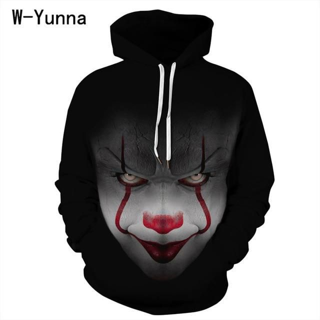 Women'S Clothing 2018 Makeup Beauty 3D Print Harajuku Sweatshirt Women Plus Sizes Tracksuit Hooded Coat as picture show XXL