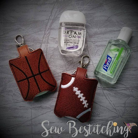 Basketball Or Football Hand Sanitizer Holder Sports With Images