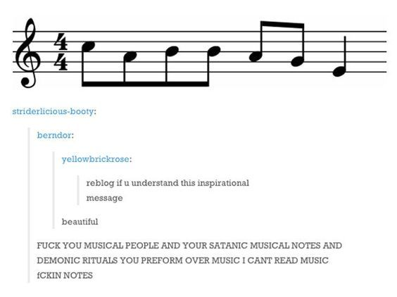 "This person who's really upset about not being able to read ""cabbage."" 