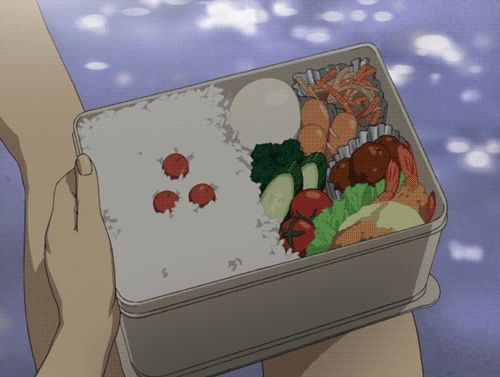 29 Times Anime Mastered This Whole Food Thing. Blood Plus. Saya eating.