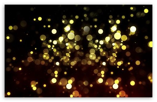 Abstract Golden Bokeh wallpaper