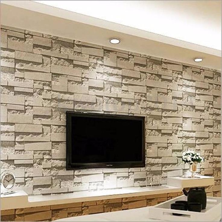 3d Wallpaper Brick Stone Living Room Tv 3dwallpaperbrick Brick Living Room Stone Ziegel Hintergrund 3d Tapete Stein Tv Wanddekor